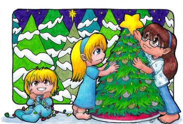 Christmas Card 2014 by ah-kaziya