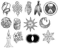 SSd20 - Holy Symbols by ah-kaziya