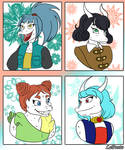 Winter Sisters by LaPonto
