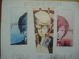 Persona 3 - 4 - Portable - Now or Never by 3therflux