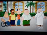 Family Guy on WLNY 10-55