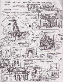 Story development, City Hall