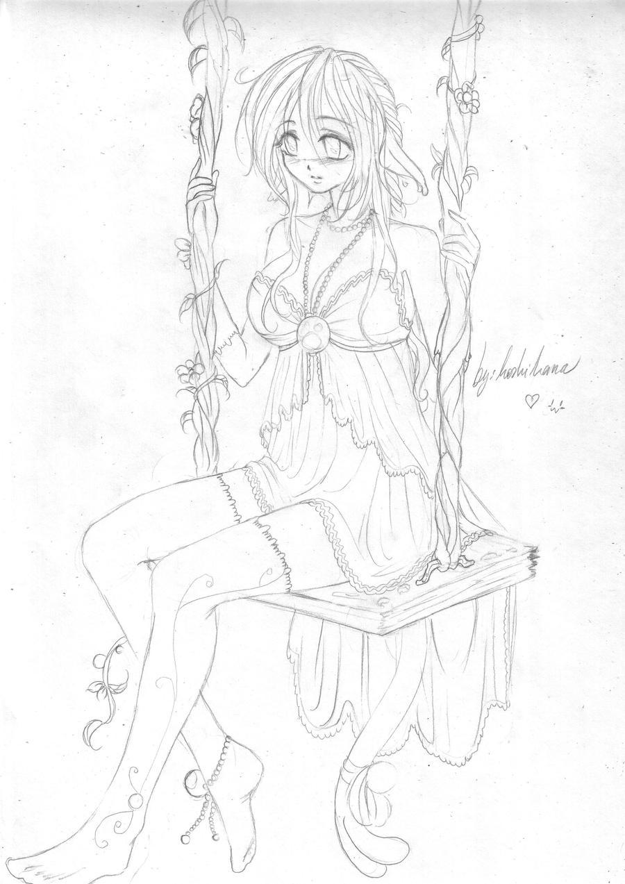 sketchmia fan art by Hoshihana-uchiha