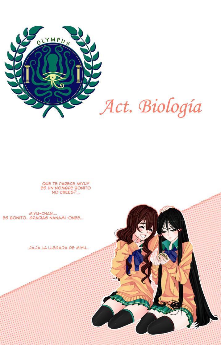 Act Biologia Nv0-Cover- by Hoshihana-uchiha