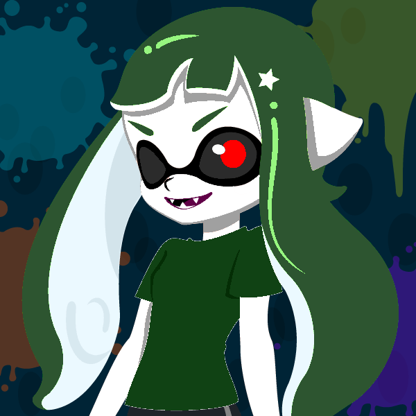 Inkling Green Doll by Ernesto666