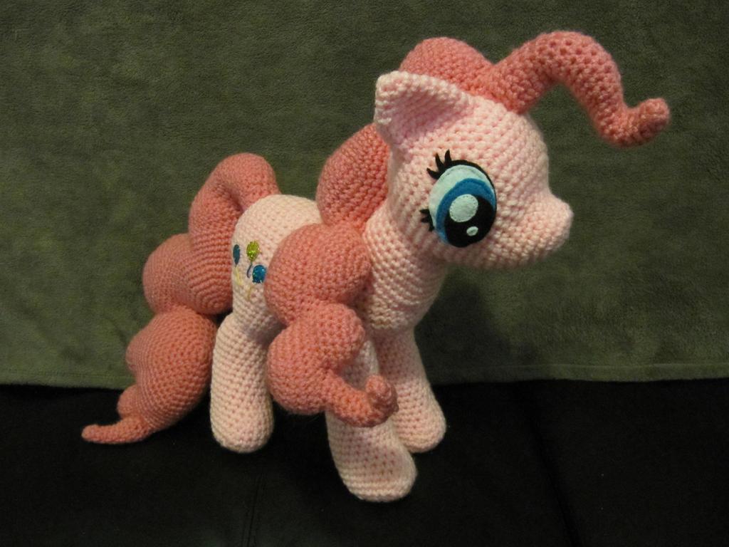 Pinkie Pie by NerdyKnitterDesigns