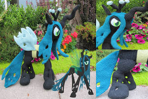 Crochet Queen Chrysalis by NerdyKnitterDesigns