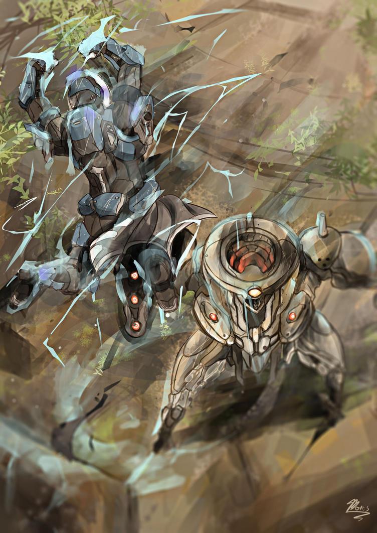 Titanfist by Nakama-Raibor