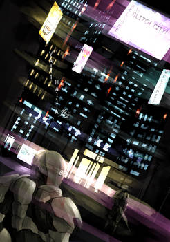 Welcome to Glitch City - VA-11 Hall-A FANART
