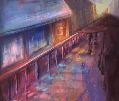 caffe shop street