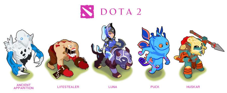 dota2 heros q by risq55 on deviantart