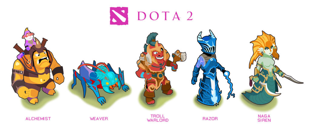 dota2 heros u by risq55 on deviantart