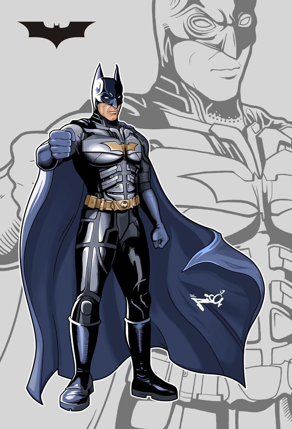 DC BATMAN by RisQ55