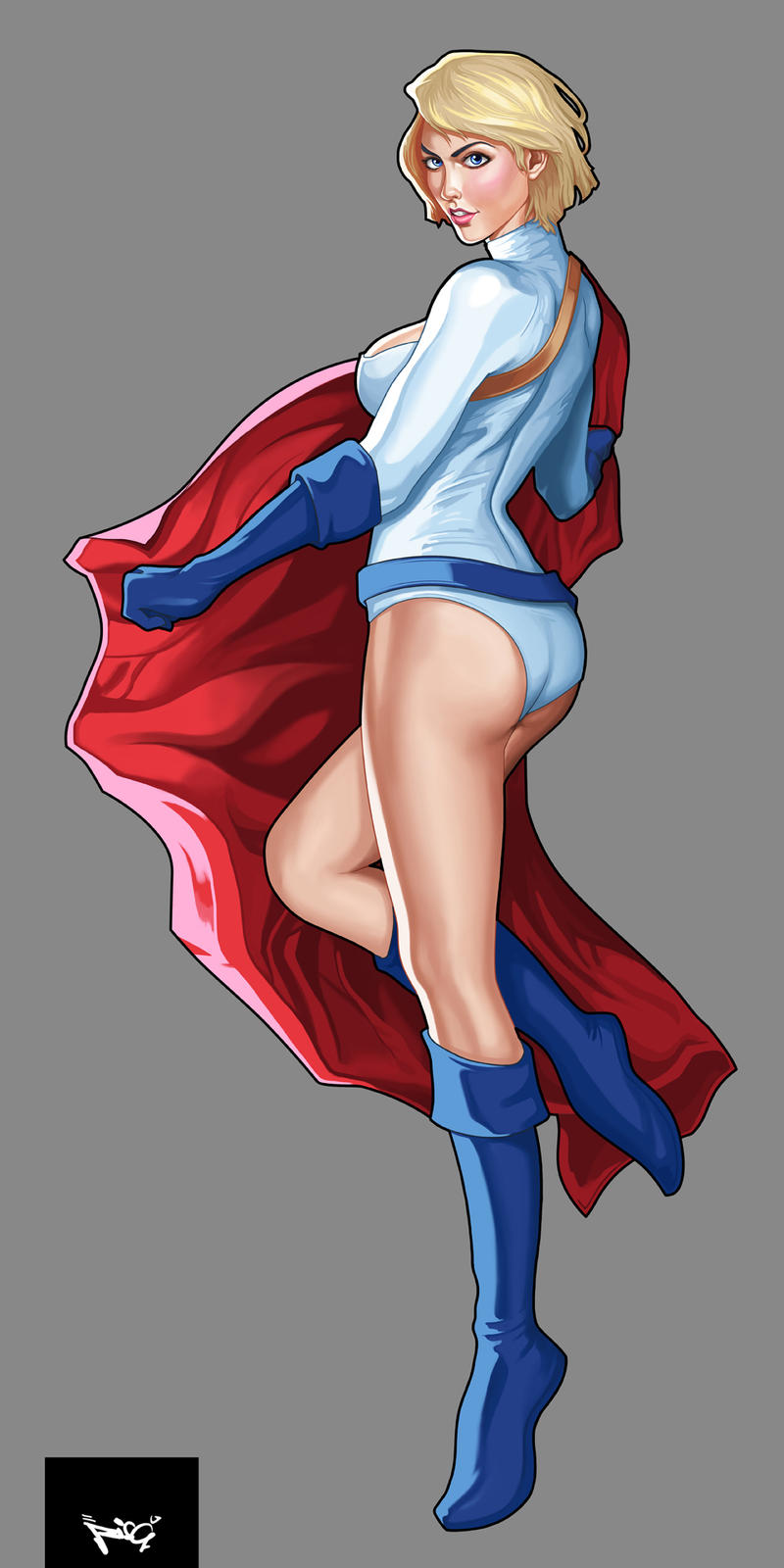 PowerGirl by RisQ55