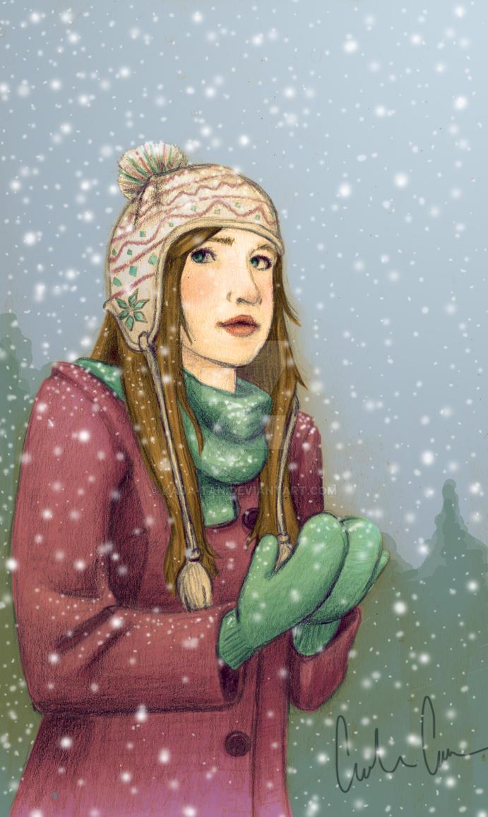 Catching Snow by Kaja-tan