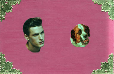 men with dog by Ethelind