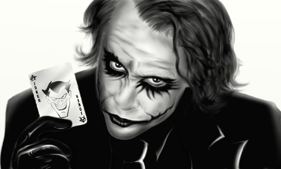 The Joker (Heath Ledger) by cromarlimo