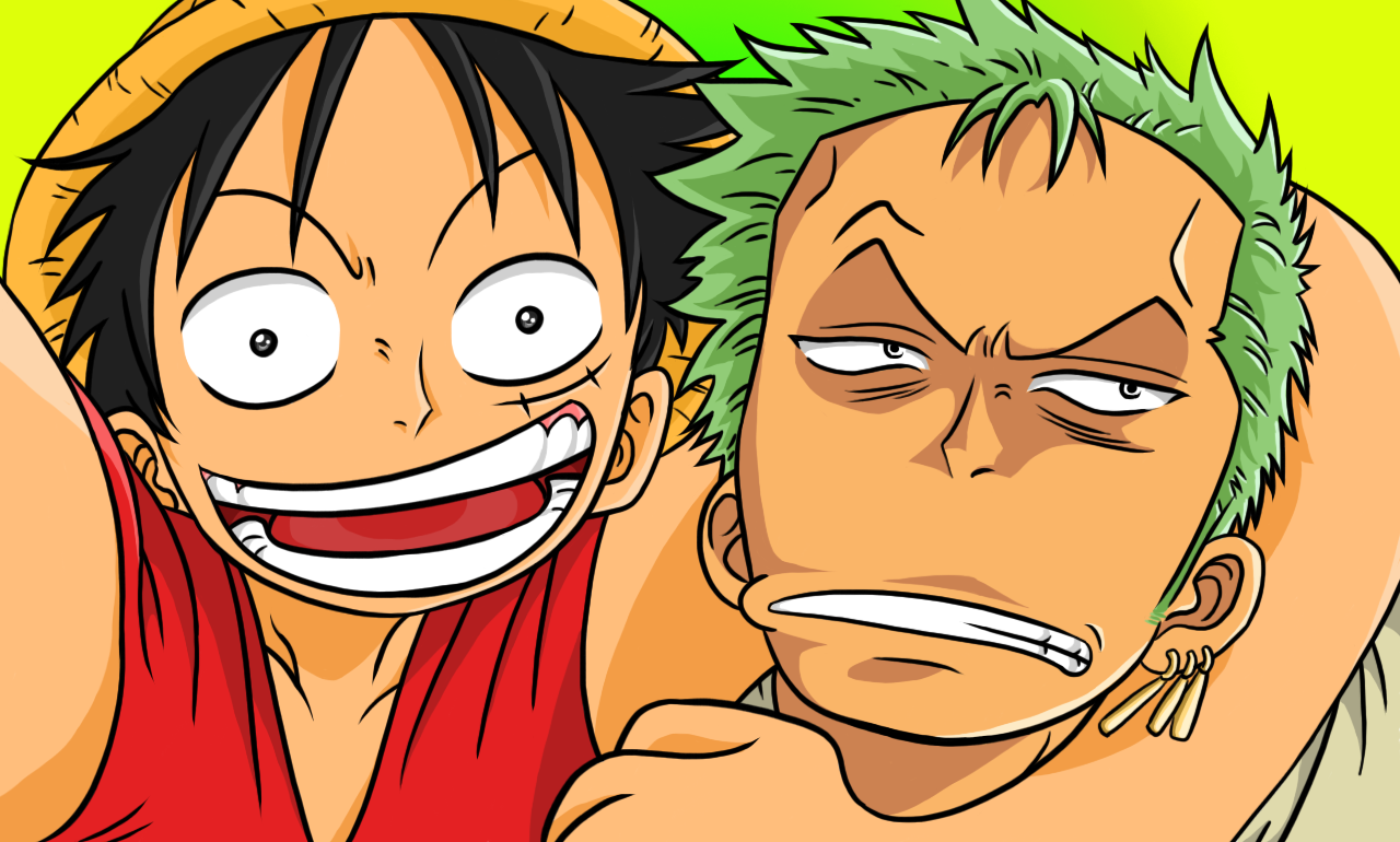 Zoro!!! Let's take a photo!!! by cromarlimo
