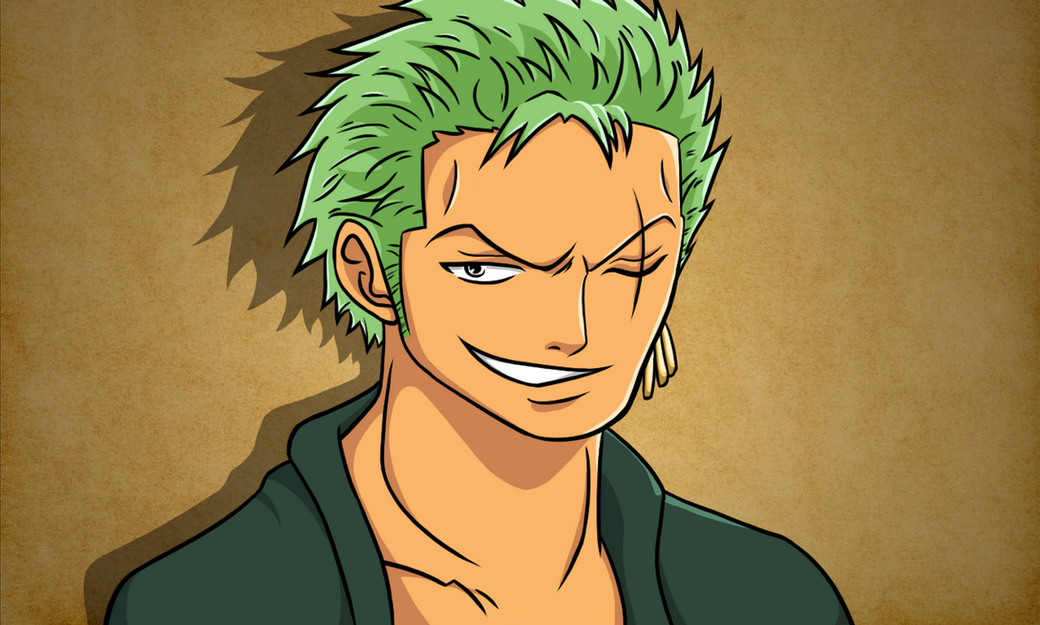 Roronoa Zoro - Two Years Later by cromarlimo