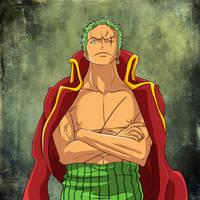 Roronoa Zoro - The Pirate Hunter by cromarlimo