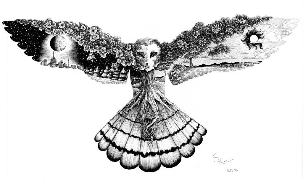 Celestial Owl