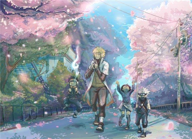 Kids Spring by kanzzzaki