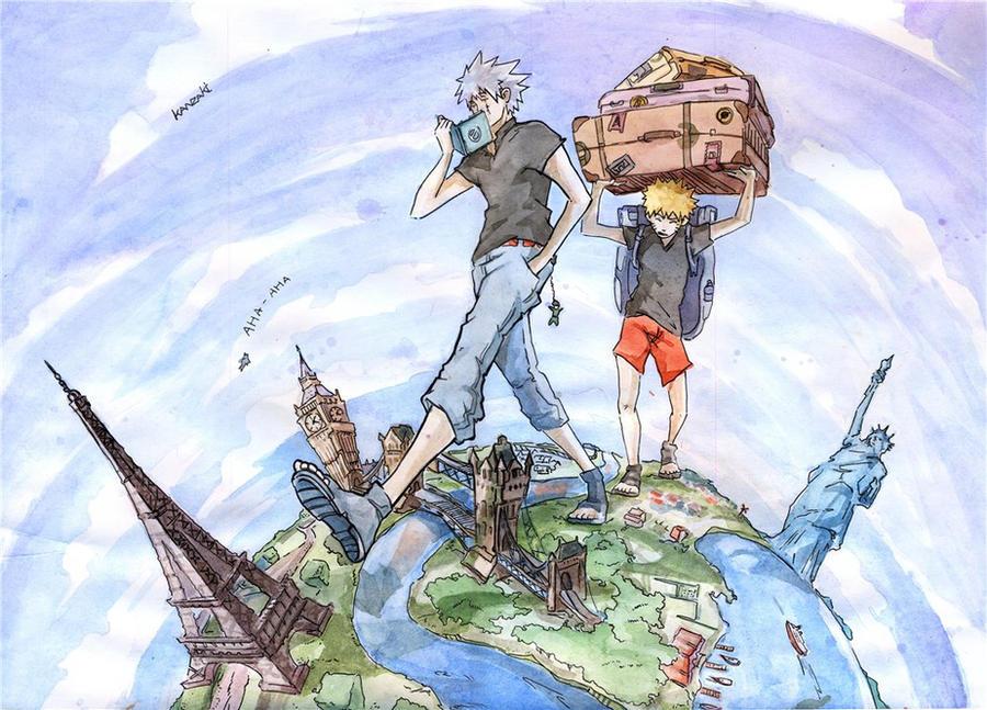 Around the world in 80 days by kanzzzaki on deviantart for Art from around the world