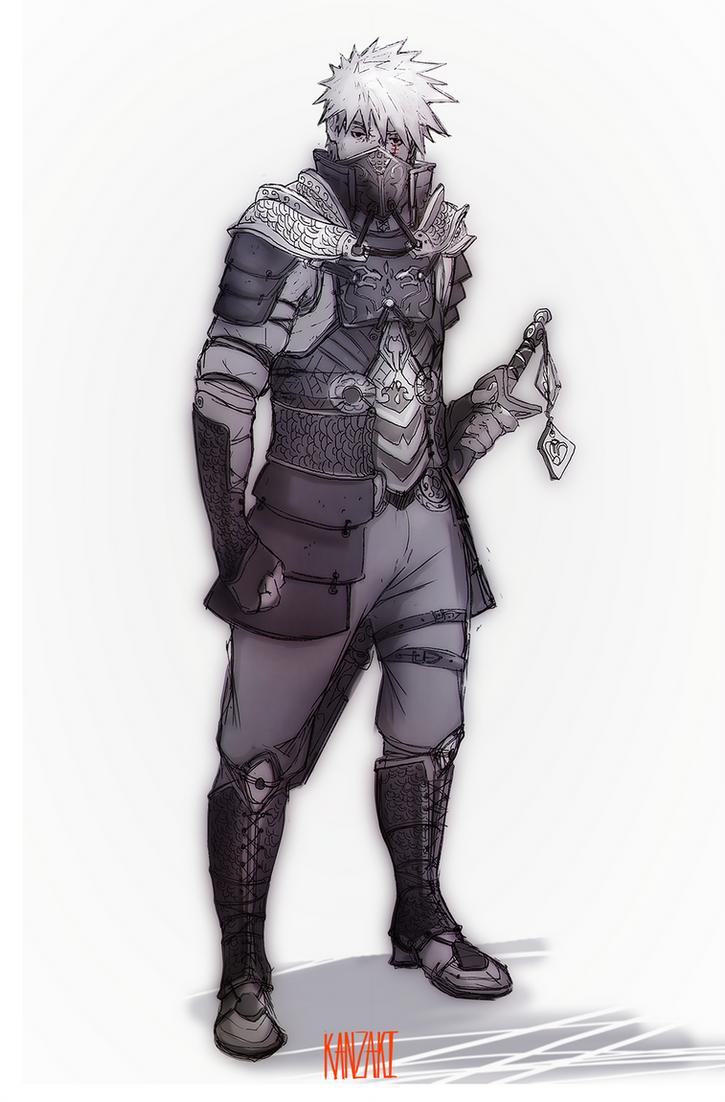 Armor_Hatake by Kan-z-z-z-akI