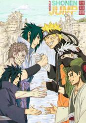 Naruto  Shonen Jump cover contest by kanzzzaki