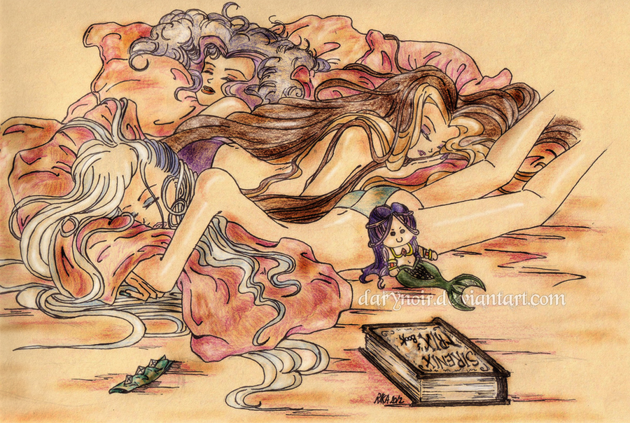Sirenix Trix Study by darynoir