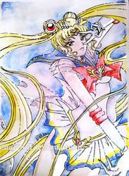 Super Sailor Moon by darynoir