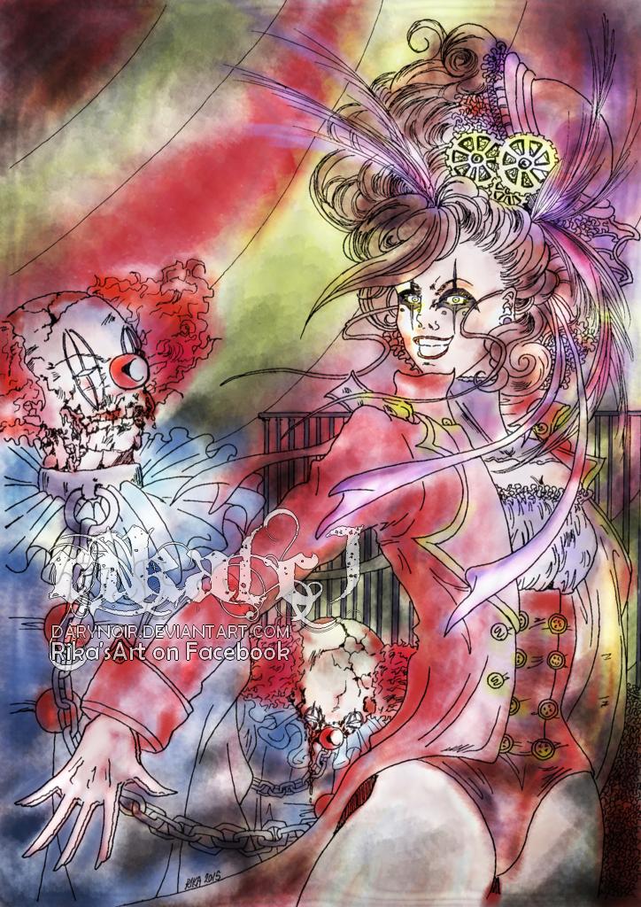 Horror Circus by darynoir