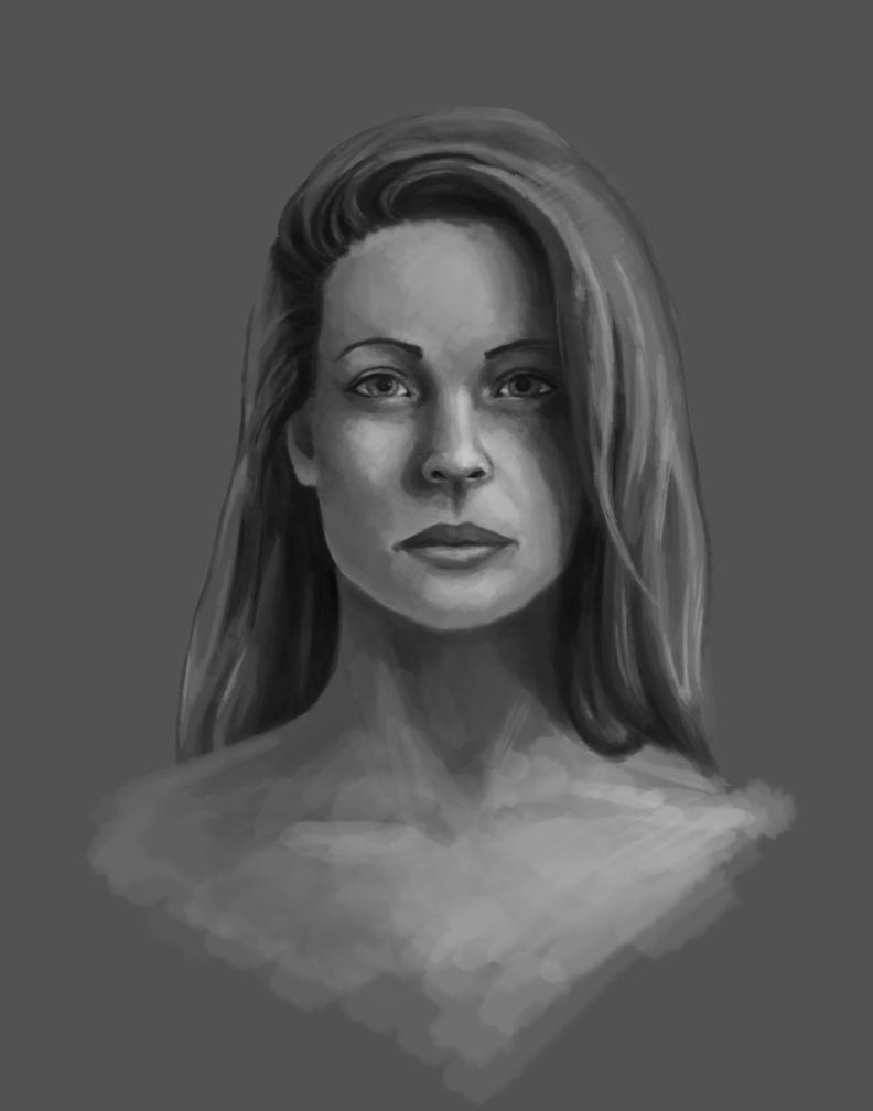 Woman Portrait by Adoron