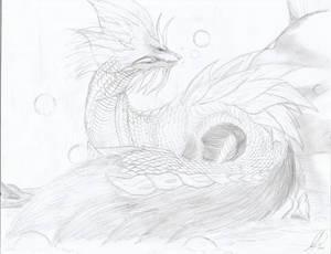 Mizutsune - Drawing