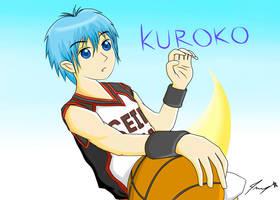 Kuroko Tetsuya - Kuroko no Basuke by ppeach444
