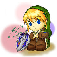 Chibi Link - Twilight Princess by ppeach444