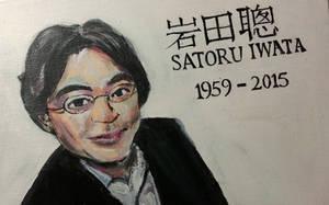 R.I.P. Satoru Iwata by ppeach444