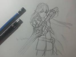 Lucina - Fire Emblem: Awakening (Sketch)