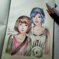 Max Caulfield X Chloe Price - Life is Strange by ppeach444