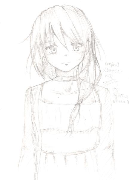 Kate OC sketch by ppeach444