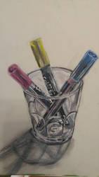 Acrylic practice by ppeach444