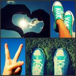 PEACE,LOVE,CONVERSE