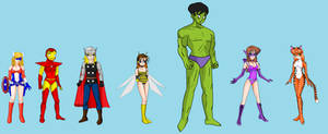 The Avengers- Super Warriors