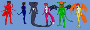 Spider-Man Super Warrior- Alternate Forms