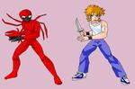 Spider-Man Super Warrior- Carnage