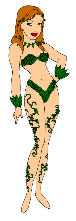 Poison ivy doll nude final