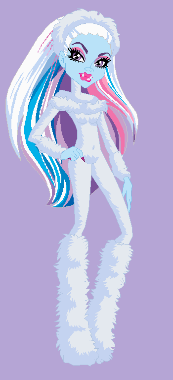 monster high abbey bominable true yeti form by dinalfos5