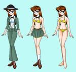 Toni-  Wreck-It Ralph RP Fantasy outfits