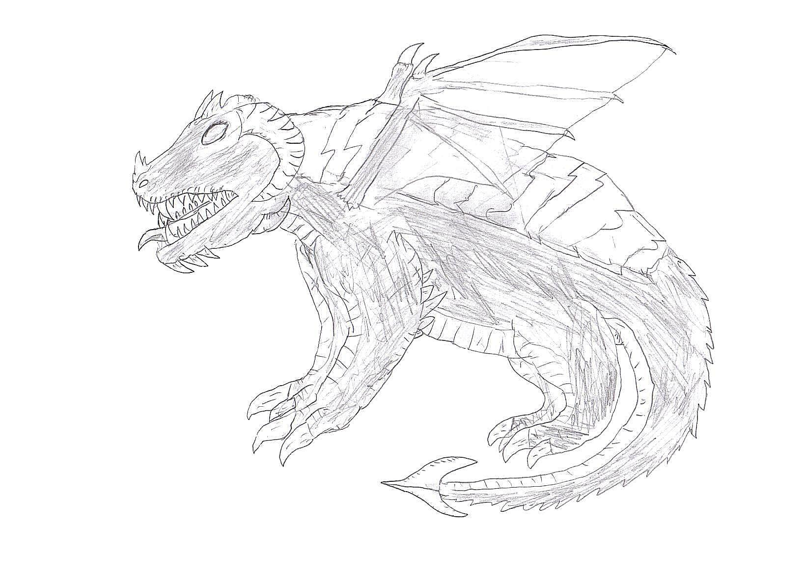 Evil Dragon Request by Dinalfos5 on deviantART