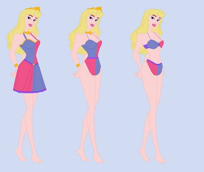 Aurora-  Wreck-It Ralph RP Fantasy outfits 4